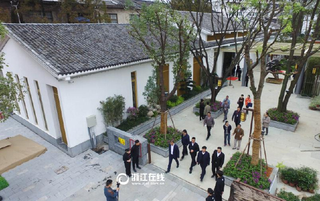 温州老厂房变身文化产业园