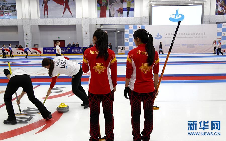 中国六朵金花绽放高原 演绎高海拔冰壶秀