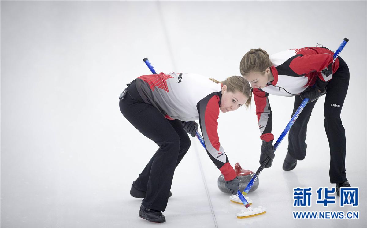 冰壶——青海国际邀请赛:加拿大女队夺冠