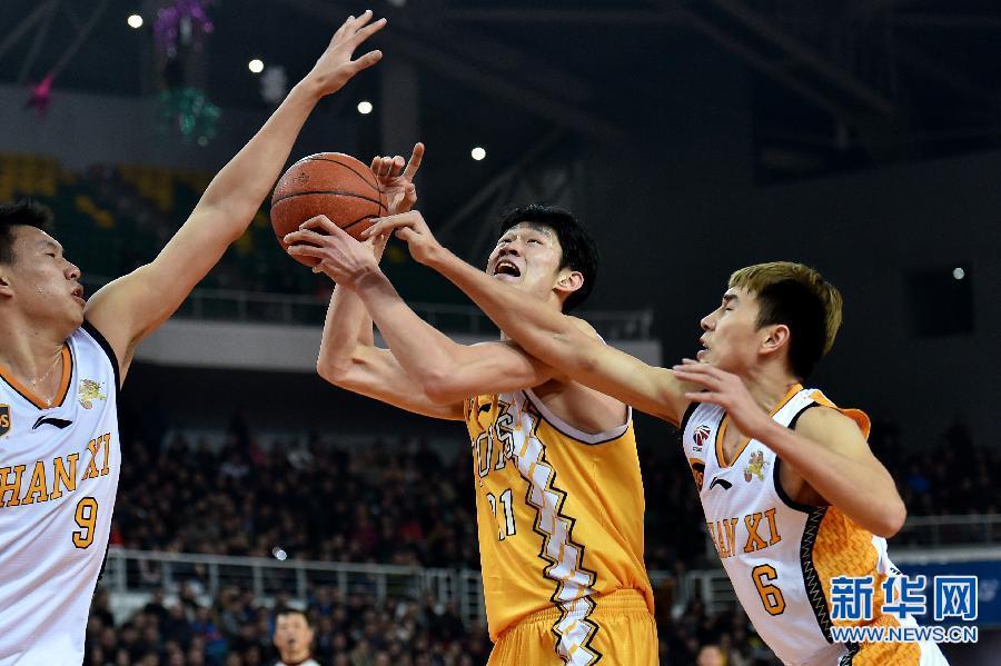 篮球——CBA:浙江广厦胜山西汾酒