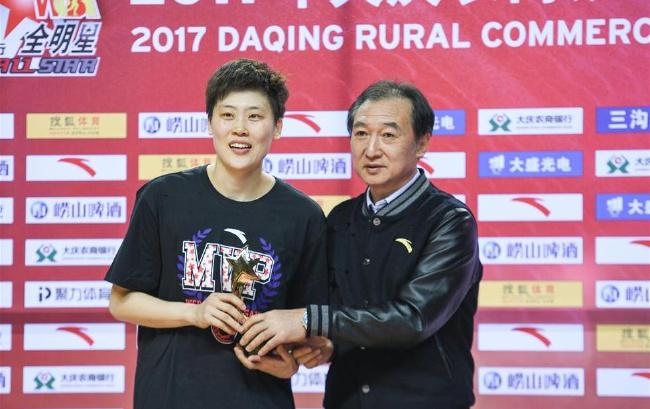 WCBA全明星赛:纪妍妍获得MVP称号