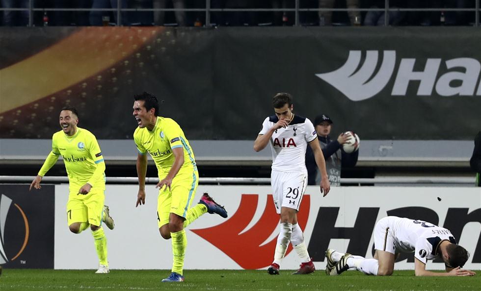 欧罗巴联赛:热刺客场告负