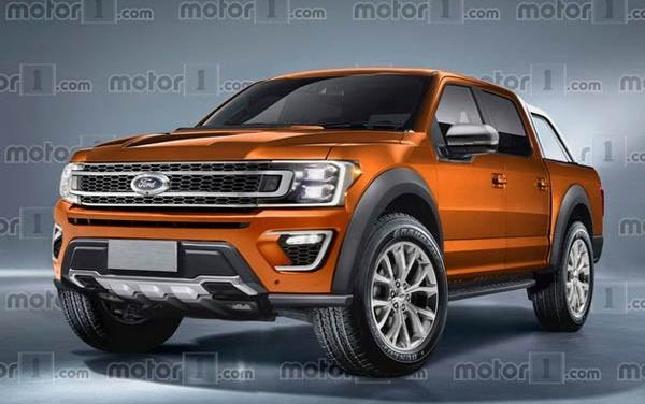福特新Ranger假想图曝光 将于2018年推出