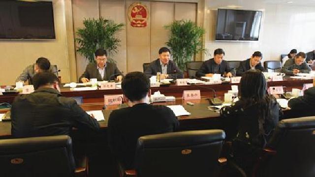 于洪区召开营商环境工作领导小组会议
