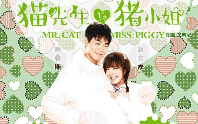 《猫先生与猪小姐》曝人物海报 讲述浪漫爱情