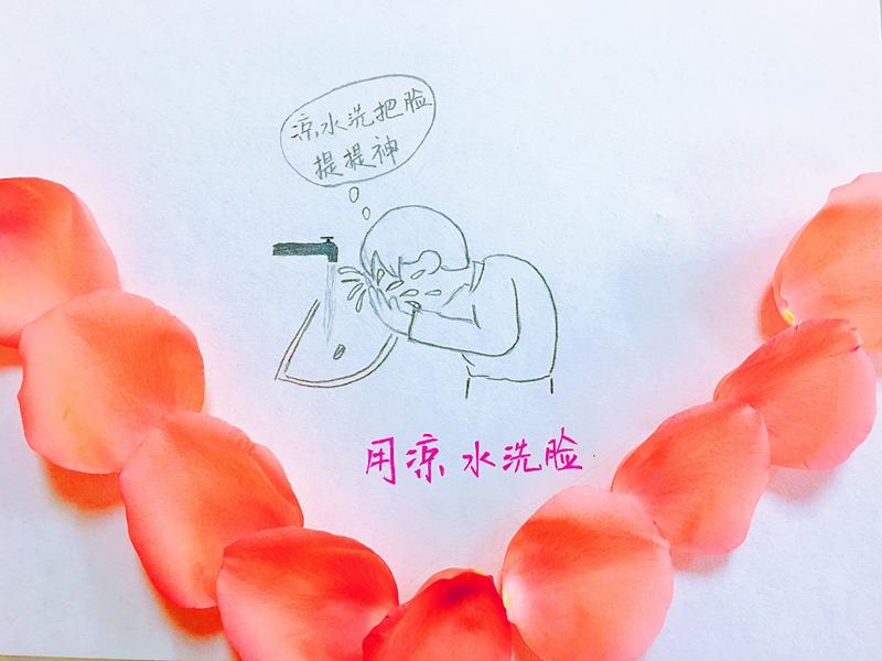 """开车出行""""春困""""如何破?西安交警超萌手绘画告诉你"""