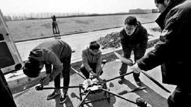 沈阳有个无人机飞行服务队