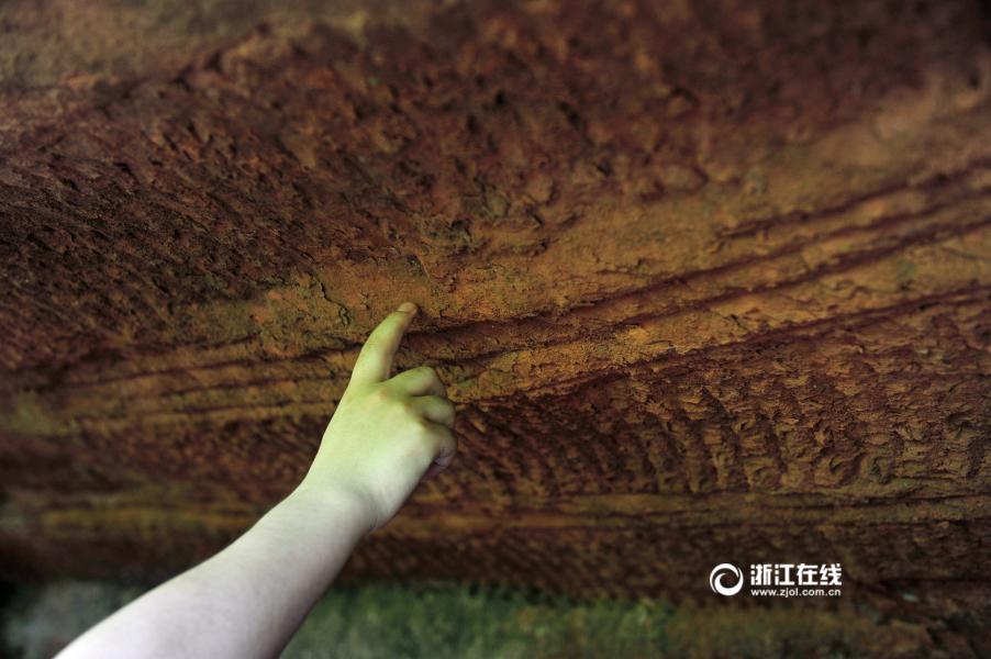 浙江发现庞大神秘石窟群 距龙游石窟不远