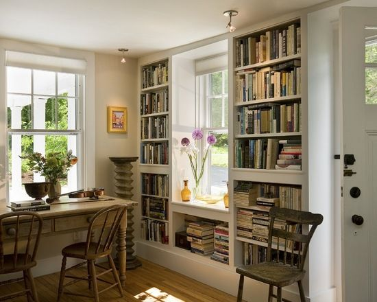 见缝插针的书架 9个阅读区的无限可能 试试吧