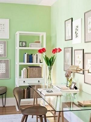 春色引入书房来 6款时尚书房设计 你喜欢哪款