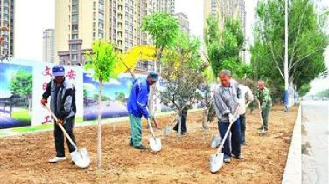 辽阳:搞好绿化推动创城