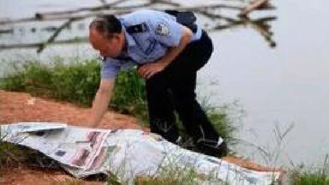 沈阳新光公园河中现中年女性浮尸