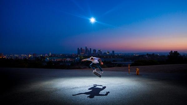 摄影师教你如何用无人机补光