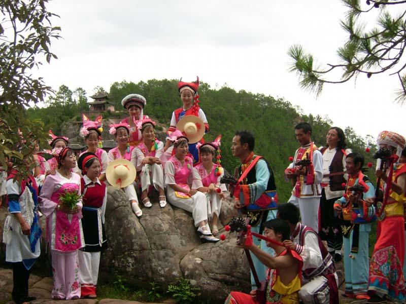 剑川县第五届白族文化节暨2016年石宝山歌会节公告