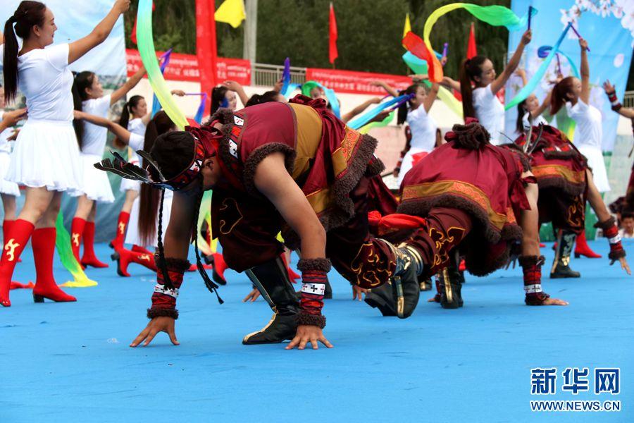 贵德县少数民族传统运动会开幕