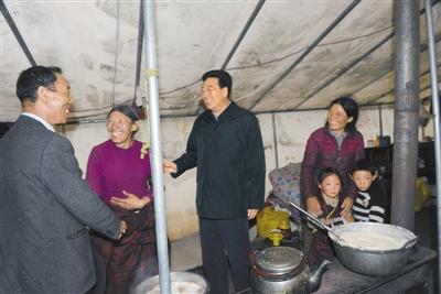 吴英杰:为促进那曲地区发展稳定提供有力支撑