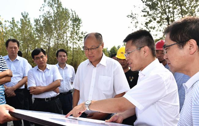 合肥经济技术开发区工委领导调研在建项目