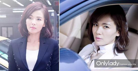刘涛在《欢乐颂》中的精彩演绎,这个发型的确帮了不少忙,时髦又稳重图片