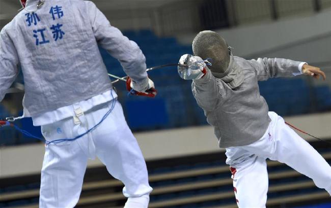 全国锦标赛:男子佩剑团体赛广东队夺冠