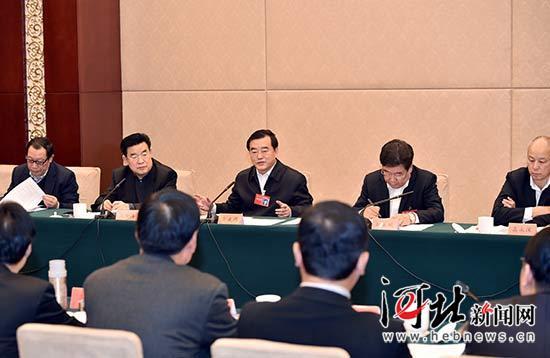 张庆伟参加省政协经济二组讨论:践行新发展理念