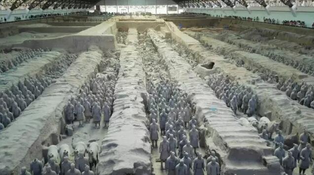 眼睛 陕西/这才是真正的秦始皇兵马俑景区的外景!