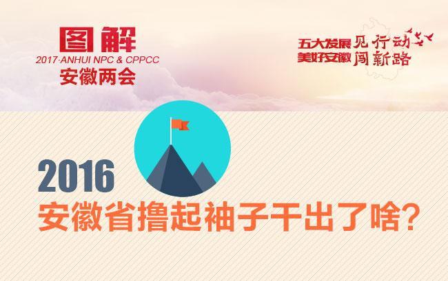 2016年安徽省擼起袖子幹出了啥?