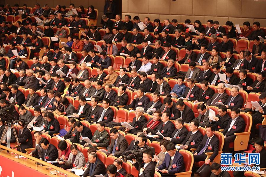 浙江省十二届人大五次会议开幕 车俊作政府工作报告