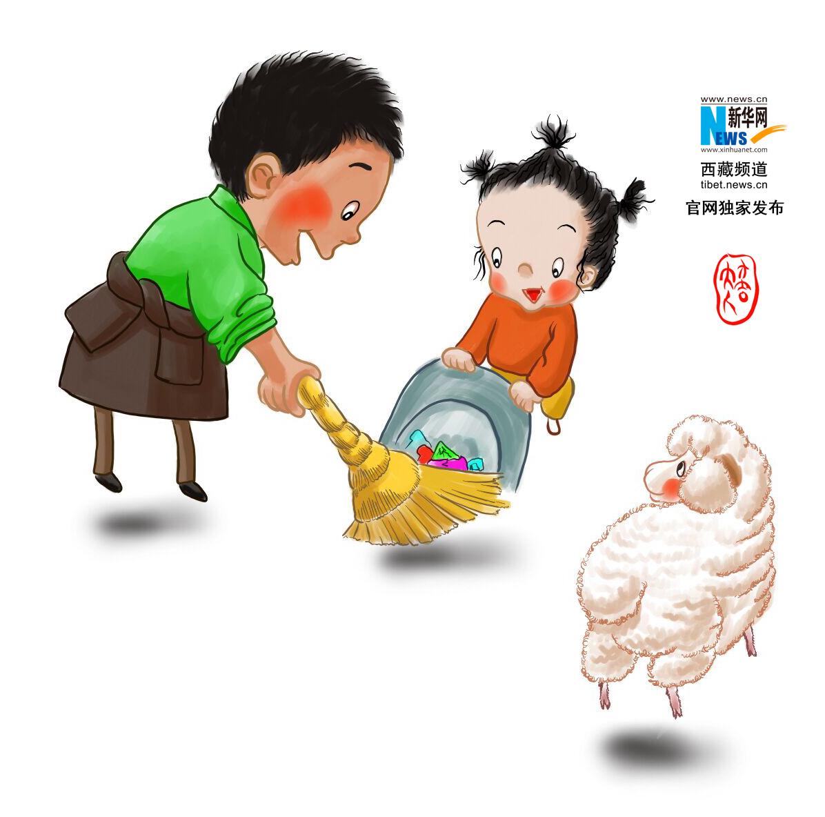 """萌图看西藏第17期:""""罗萨""""之前,""""图恰""""里的欢乐时光!"""