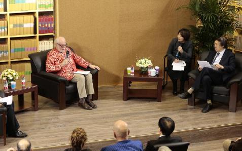 冯骥才与诺奖得主跨界对话
