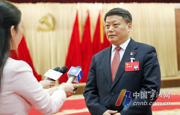 市委书记唐一军:为宁波城市更加繁荣美丽而拼搏