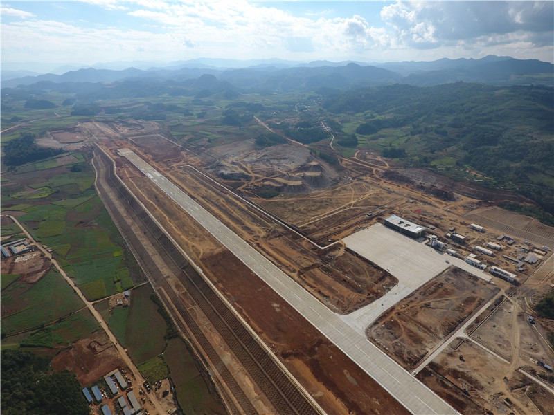 澜沧景迈机场校飞成功 为年内通航打下基础