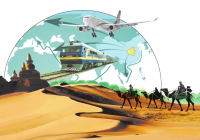 """河南省激發貿易潛力開拓沿線市場 發揮疊加優勢融入""""一帶一路"""""""