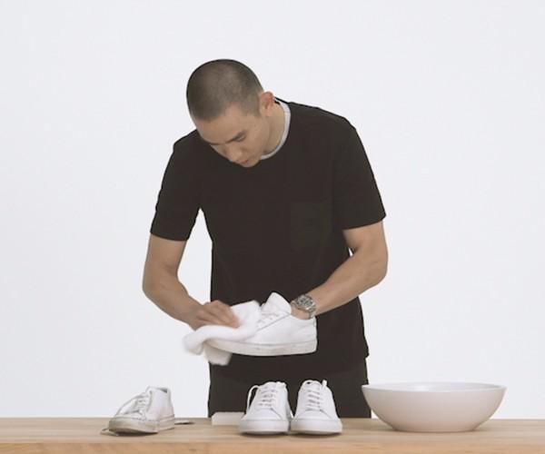 人人都爱小白鞋,可你知道如何清洗吗?