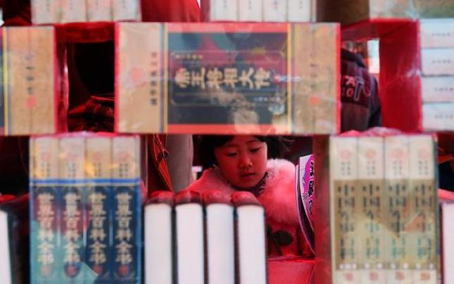 河南宝丰举办首届图书博览会