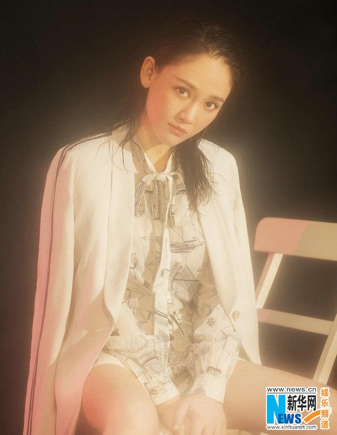陈乔恩登时尚封面 被喻生活在桃源中的侠客