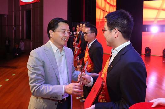 青春建功 湖州市举行庆祝中国共青团成立95周年大会