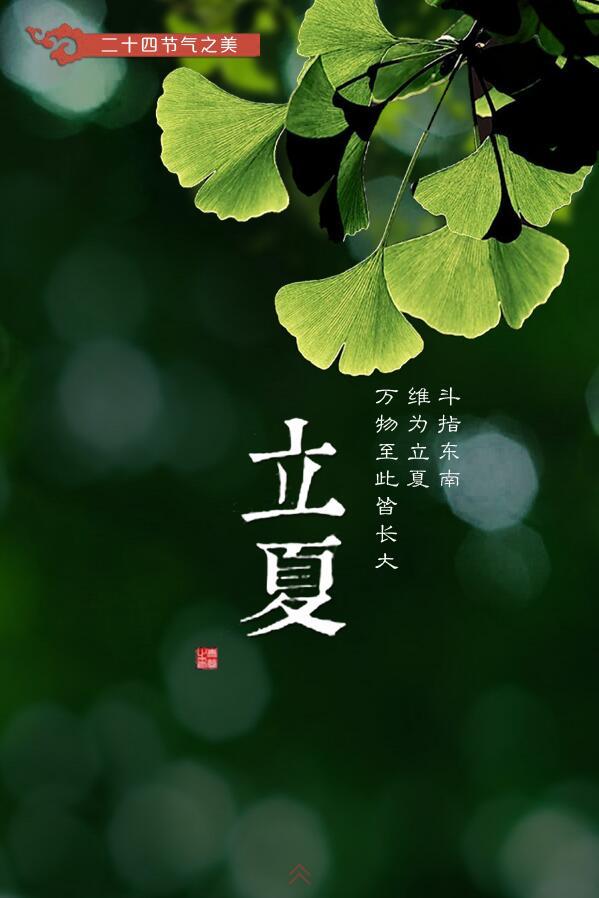 【H5】二十四节气之美----立夏
