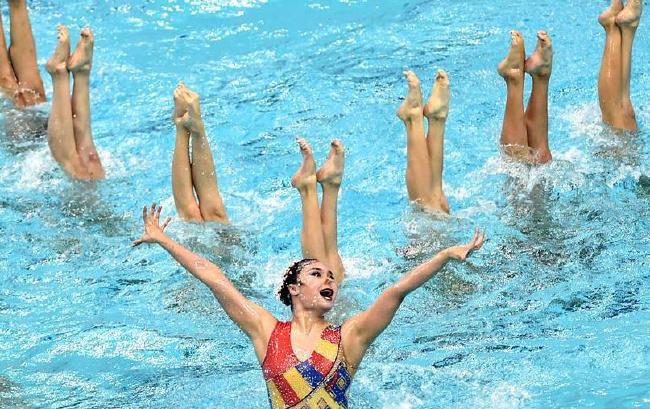 花样游泳:水中芭蕾