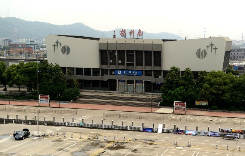 杭州:火车南站站前广场雏形展现