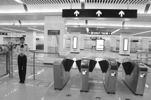 """石家庄地铁试运营受到广大市民青睐 乘地铁发生囧事要""""长心"""""""