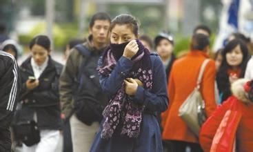 骤降23.3℃!市民从短裤穿回棉衣