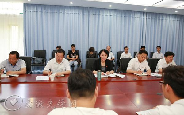 """淮南市长在淮南联大作""""两学一做""""专题党课报告"""