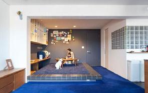 80平米二手房 其乐融融的家庭互动空间