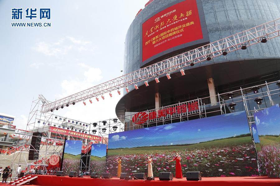 群星助阵西宁(康美)国际中药城