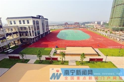 南宁五象新区4所新学校9月 开张 快帮自家孩子看看