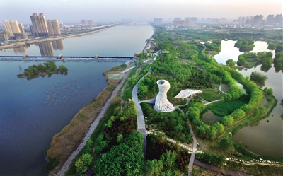 """浐灞生态区让""""生态文明""""全方位融入经济社会发展"""