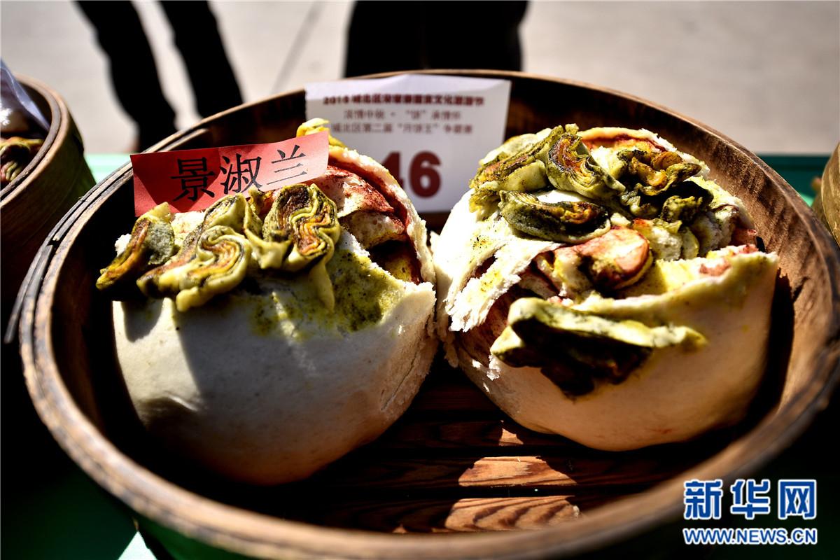 """青海""""月饼王""""争霸赛色香味俱全 堪称颜值最高的中秋月饼"""