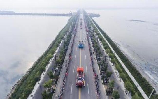 2016中国运城关公国际文化旅游节 无人机拍出新角度