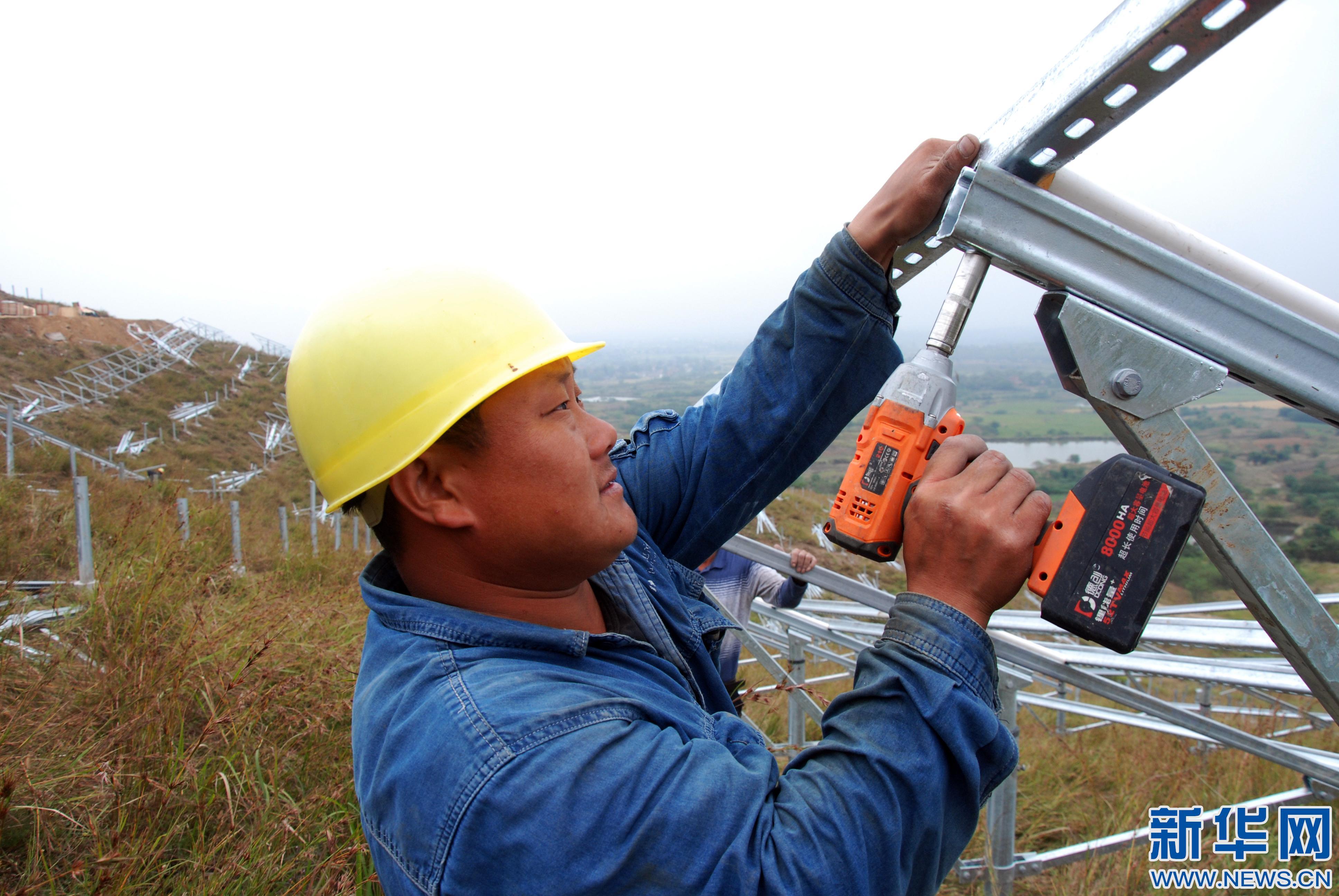 巢湖栏杆集镇光伏发电扶贫项目将并网发电
