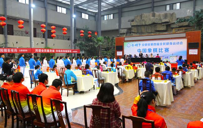 省第四届全民健身运动会棋类比赛在颍上开赛